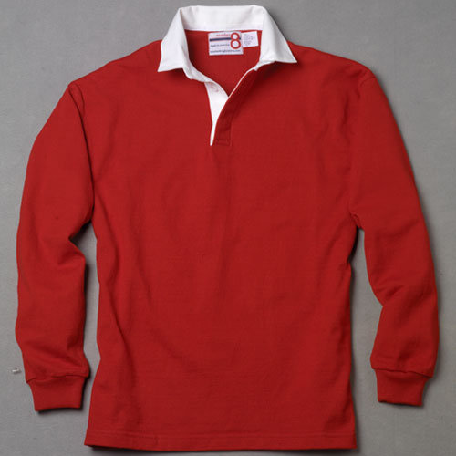 Red Rugby Shirt